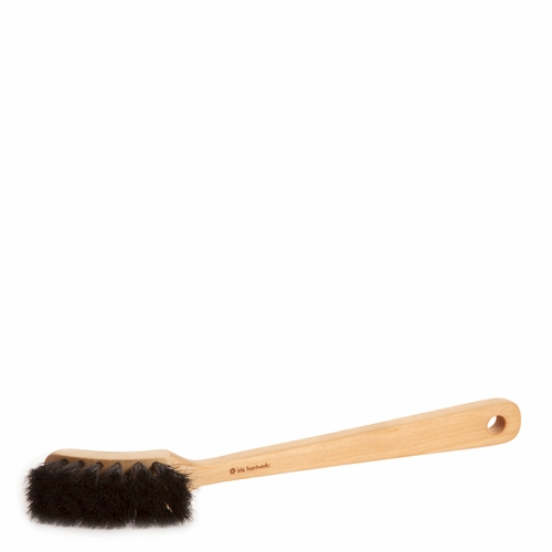 Horsehair & Oil-treated Birch Dish Brush, Dark