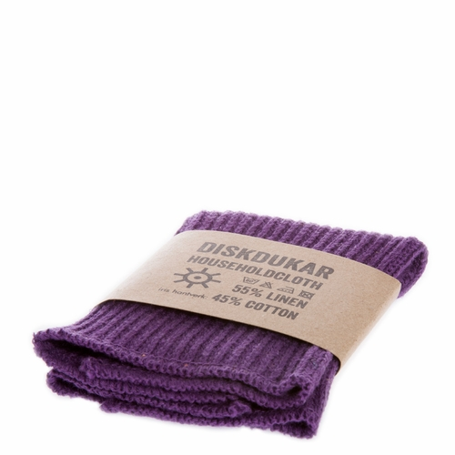 Iris Hantverk Household Cloth, Aubergine