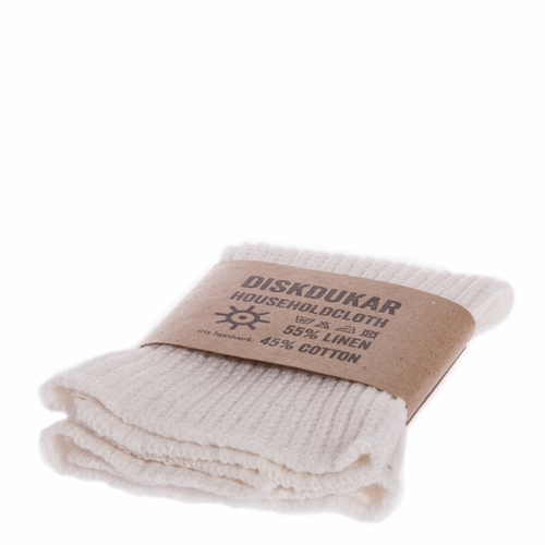 Iris Hantverk Householde Cloth, Off-white