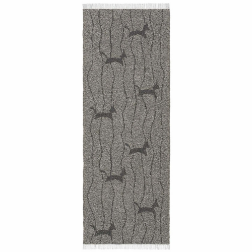 Horredsmattan Washable Swedish Cotton Blend Rug - Fox Grafit - 4 Sizes