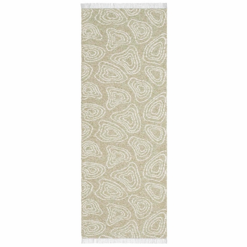 Horredsmattan Washable Swedish Cotton Blend Rug - Hill Green - 7 Sizes