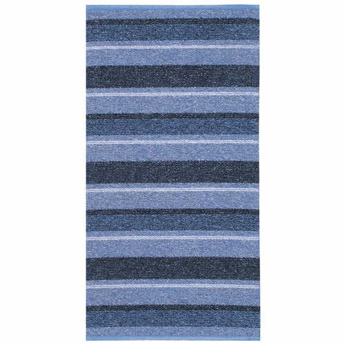 HRD Washable Swedish Cotton Blend Rug - Liv Blue - 14 Sizes Available