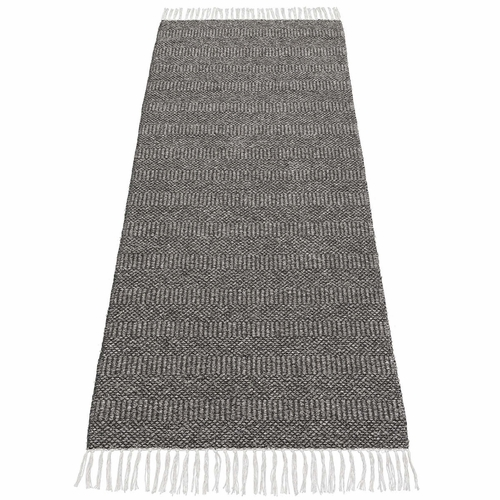 HRD Swedish Cotton Blend Rug Maja, Graphite - 12 Sizes