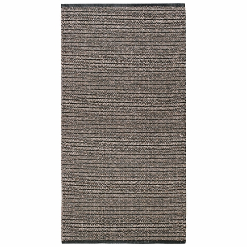 HRD Washable Swedish Cotton Blend Rug - Uni Brown - 13 Sizes Available