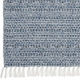 Horredsmattan Washable Swedish Mixed Rug - Svea Blue - 15 Sizes
