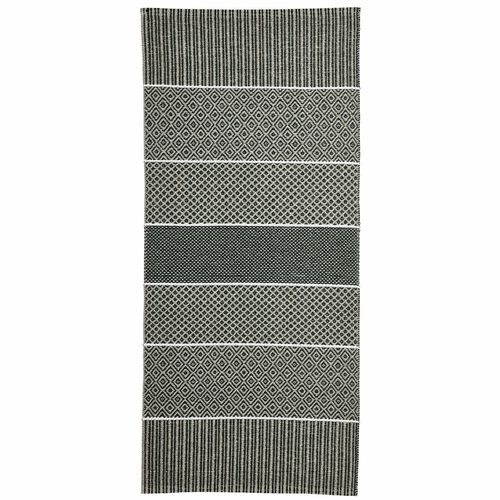 Horredsmattan Washable Swedish Plastic Rug - Alfie Green - 11 Sizes