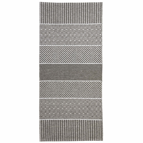 Horredsmattan Washable Swedish Plastic Rug - Alfie Grey - 11 Sizes