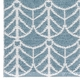 Horredsmattan Washable Swedish Plastic Rug - Deco Blue - 16 Sizes