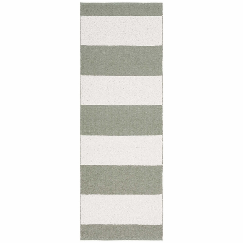 Horredsmattan Washable Swedish Plastic Rug - Markis Light Green - 18 Sizes
