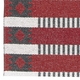 Horredsmattan Washable Swedish Plastic Rug - Marta Red - 13 Sizes