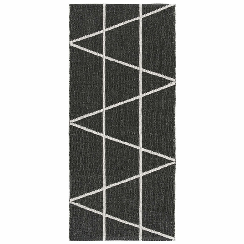 HRD Swedish Plastic Rug Viggen, Black - 14 Sizes
