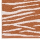Horredsmattan Washable Swedish Plastic Rug - Zebra Rust - 5 Sizes