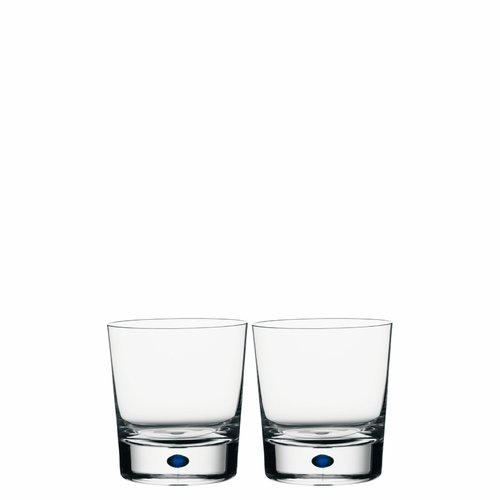 Orrefors Intermezzo Blue Double Old Fashioned 2-pack