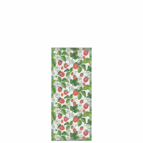 Ekelund Weavers Jordgubbar Table Runner, 14 x 31 inches