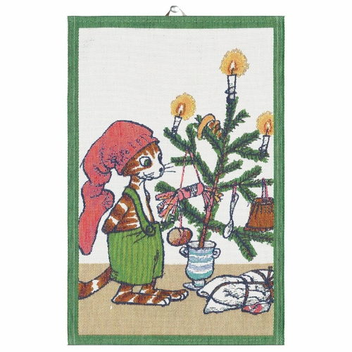 Ekelund Weavers Julfest Tea Towel, 16 x 24 inches