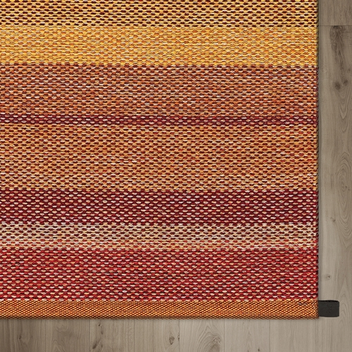 Kasthall Harvest Woven Wool Rug, Red & Yellow