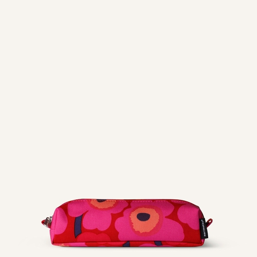 Kati Mini Unikko Cosmetic Bag, Red/Pink