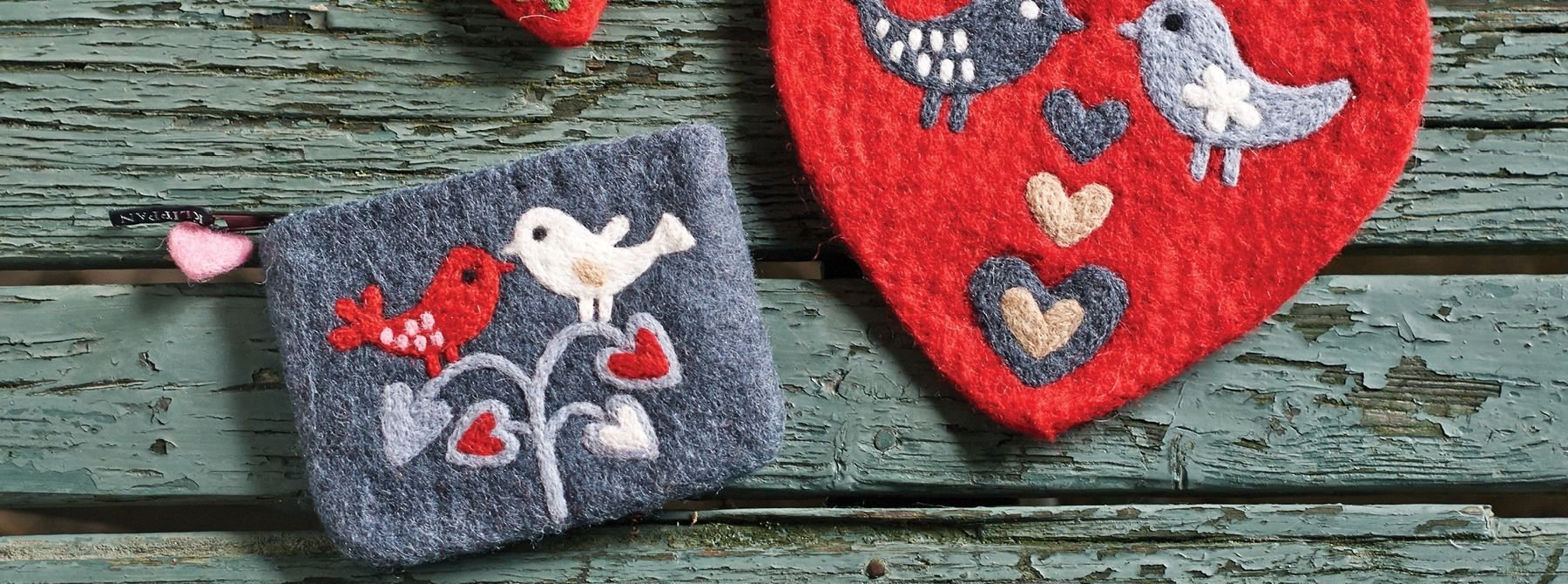 Klippan Boiled Felted Wool Accessories