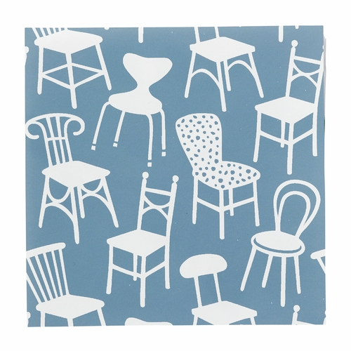 Klippan Chairs Paper Napkins, 3 Packs of 20