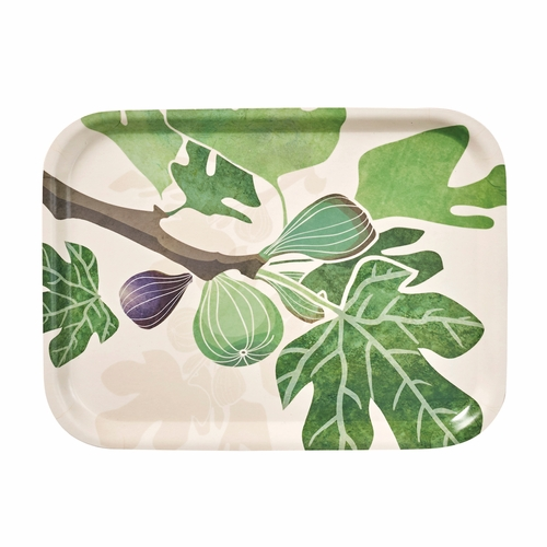 "Klippan Figs Small Rectangular Tray, 10.6"" x 8"""