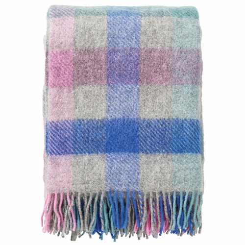 Klippan Gotland Brushed Gotland Wool Throw, Multi Pastel