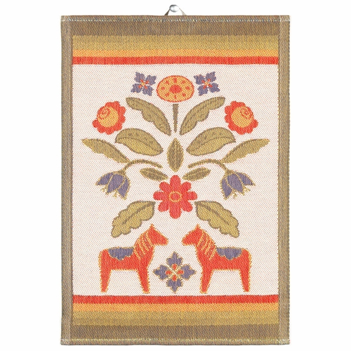 Ekelund Weavers Kurbitsblom Tea Towel, 14 x 20 inches