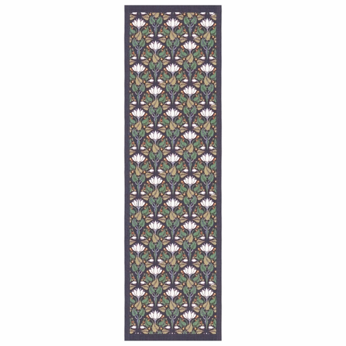 Ekelund Weavers Lilies Table Runner, 14 x 47 inches