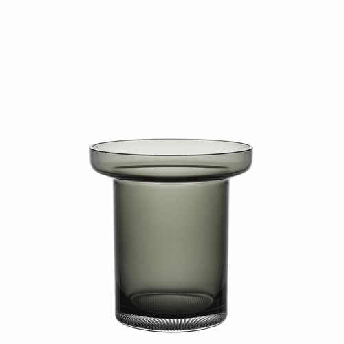Limelight Tulip Vase - Smoke Grey