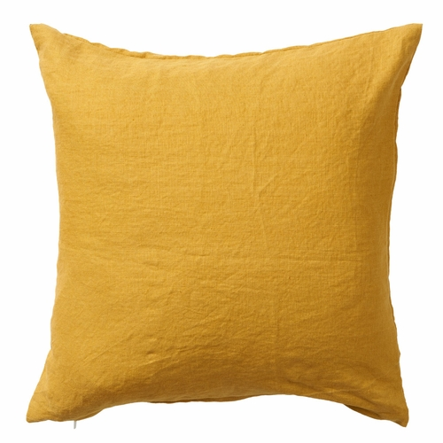 Klippan Linn Linen Cushion Cover, Mustard