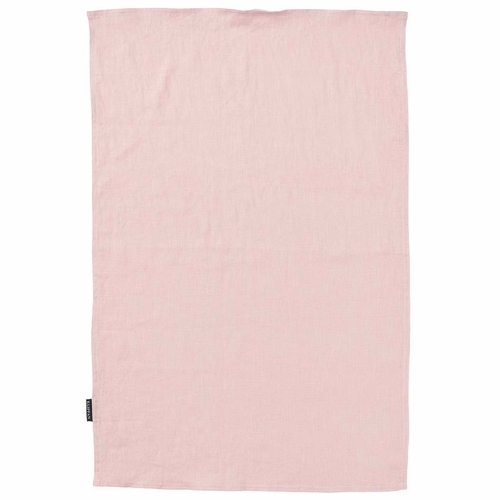Klippan Linn Linen Kitchen Towel, Rose
