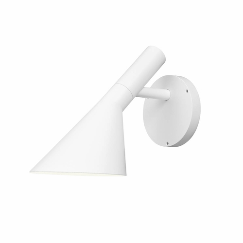 Louis Poulsen AJ 50 Outdoor Wall Lamp, White