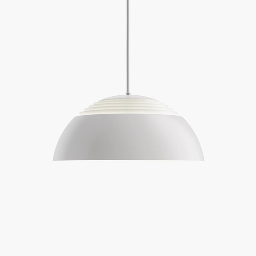 Louis Poulsen AJ Royal Pendant, White - 2700 Kelvin, Dimmable / 14.6""