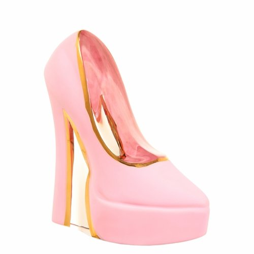 Make Up Shoe Stiletto - Pearl Pink