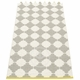 Marre Plastic Rug - Warm Grey/Vanilla, 2 1/4' x 3'