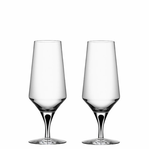 Orrefors Metropol Beer, Set of 2