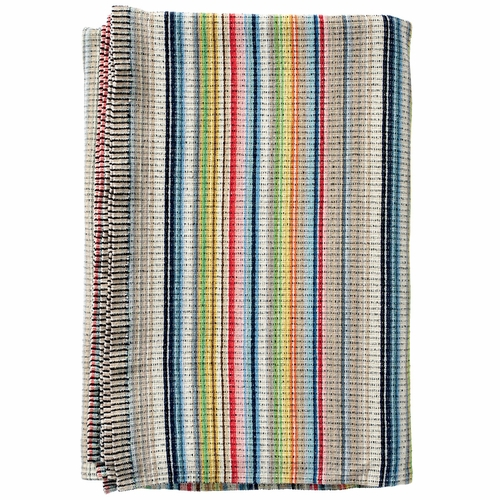 Klippan Miami Organic Cotton Chenille Blanket, Multi