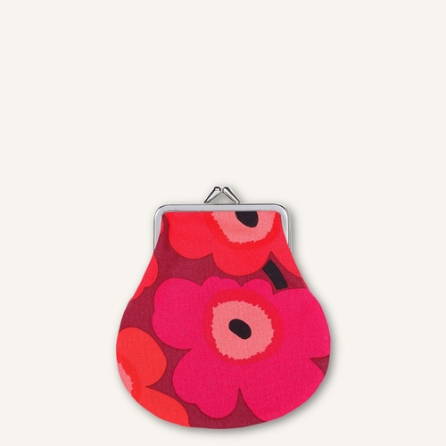Mini Unikko Mini Coin Purse, Red/Dark Red