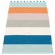 Pappelina Molly Plastic Rug - Petrol, 2 1/4' x 9 3/4'