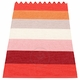 Pappelina Molly Plastic Rug - Sunset, 2 1/4' x 6 1/2'