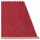 Mono Plastic Rug - Blush/Dark Red, 6' x 7 1/4'