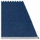 Mono Plastic Rug - Dark Blue/Denim, 4 1/2' x 6 1/2'