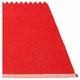Mono Plastic Rug - Red/Coral Red, 6' x 10'
