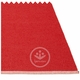 Mono Plastic Rug - Red/Coral Red, 6' x 7 1/4'