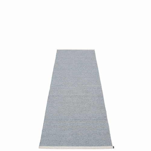 Mono Plastic Rug - Storm/Light Grey, 2 1/4' x 6 1/2'