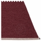 Pappelina Mono Plastic Rug - Zinfandel/Rose Taupe, 6' x 7 1/4'