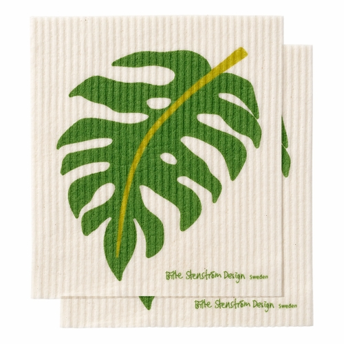 Monstera Dishcloth, Set of 2