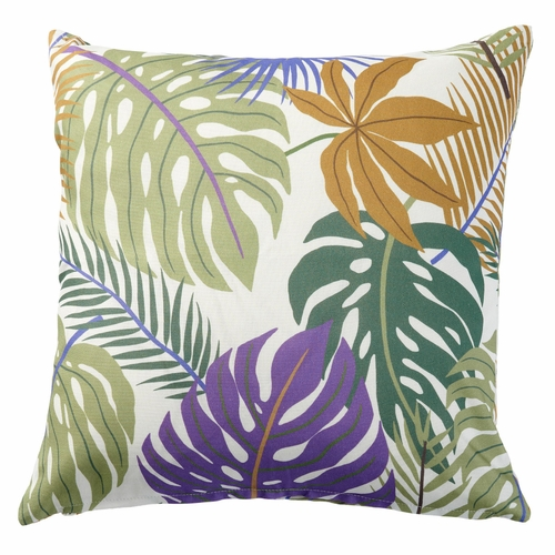Monstera Printed Cushion Cover