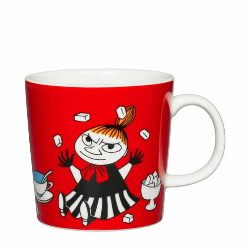Moomin Mug 10oz, Little My Red