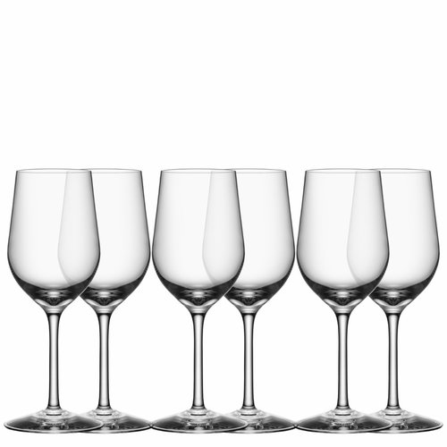 Orrefors Morberg Collection White Wine, Set of 6