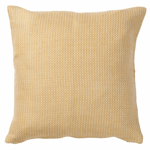 Mynta Half-Linen Cushion Cover, Yellow